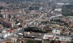 Foto panoramiche dall'elicottero della Polizia
