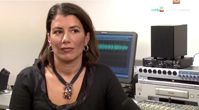 Il nuovo presidente di NapoliSociale Natalia D'Esposito